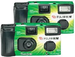 FUJIFILM QuickSnap Flash 400 - Camera á usage unique - 35 mm -  (Noir)