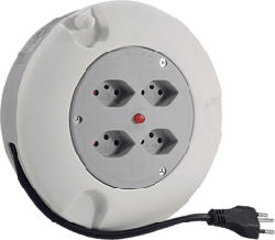 STEFFEN KU - Box à câble (Blanc/Gris)