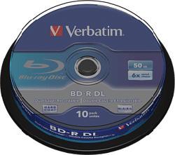 VERBATIM 43746 BD-R DL - Disques Blu-ray vierges