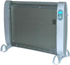 SONNENKOENIG MAXIMO 2000 LCD SILBER - Heizstrahler (Silber, schwarz)