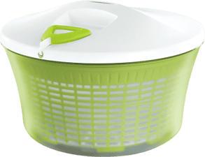 LEIFHEIT Salatschleuder ComfortLine - Salatschleuder (Weiss, grün)
