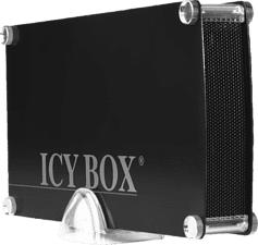 ICY BOX BOX IB-351StU3-B - Involucro del disco fisso (Nero)