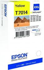 EPSON T7014 - Tintenpatrone (Gelb)