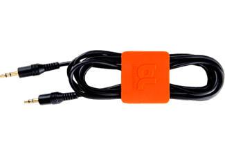 BLUELOUNGE CABLECLIP MEDIUM - Kabelhalterung (Orange, dunkelgrau)