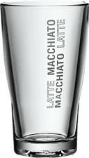 WMF de verres à latte macchiato, 2 pièces Barista - Verre de Latte Macchiato (Transparent)