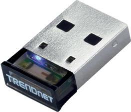 TRENDNET TBW-106UB - Micro adaptateur USB Bluetooth (Noir/Argent)
