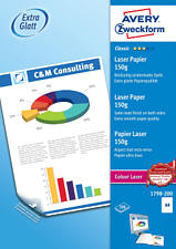ZWECKFORM Classic Colour Laser Paper, DIN A4, 150 g/m², 200 feuilles -