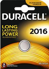 DURACELL CR 2016 - Pile bouton (Argent)