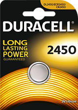 DURACELL CR2450 ELECTRONICS LITHIUM - Knopfzelle (Silber)