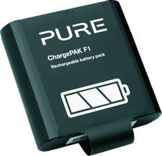 PURE DIGITAL ChargePAK-F1 - Batteria ricaricabile (Nero)