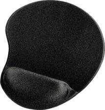HAMA Ergonomic Mouse Pad, noir - Tapis de souris (Noir)