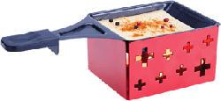 """NOUVEL 311880 Mini Raclette & Grill """"Easy"""" - Raclette (Noir/Rouge)"""