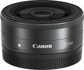 CANON EF-M 22mm f/2 STM - Primo obiettivo