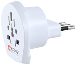 SKROSS Country Adapter World to Italy -  (Bianco)