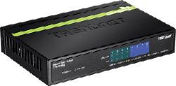 TRENDNET TPE-TG44g PoE+ GREENnet 8 porte Gigabit - Switch (Nero)