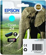 EPSON C13T24224010 - Tintenpatrone (Cyan)