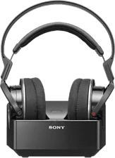 SONY MDR-RF855 - Cuffie radio con stazione di ricarica (On-ear, Nero)