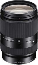 SONY E 18-200mm f/3.5-6.3 OSS LE - Obiettivo zoom