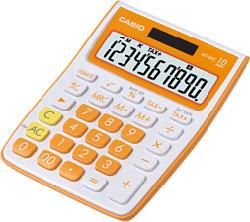 CASIO MS10VC-OE, orange - Calculatrices