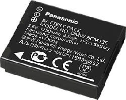 PANASONIC DMW-BCM13E - Batterie (Noir)
