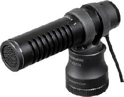 PANASONIC VW-VMS10E-K - microphone stéréo (Noir)
