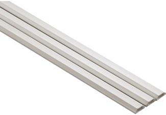 HAMA 20571 PVC DUCT ANG 100/2.1/1.0CM WHITE 3PCS - Canal pour câble
