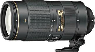 NIKON AF-S NIKKOR 80-400mm f/4.5-5.6 G ED VR - Objectif zoom