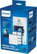 PHILIPS FC8060/01 PERFORMER PRO STARTER KIT - Sac à poussière et filtre de rechange (Blanc)