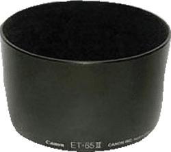 CANON ET-65 III LENS HOOD - Gegenlichtblende (Schwarz)