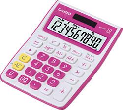 CASIO MS-10VC-RD, rosso - Calcolatrice tascabile