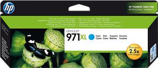 HP 971XL -  (Ciano)