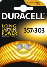 DURACELL Electronics 357/303 2er - Pile bouton (Argent)