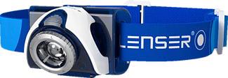 LED LENSER SEO7R - Lampe frontale (Bleu)