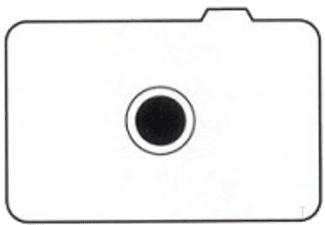 CANON EC-A - Insert écran mat (Transparent)