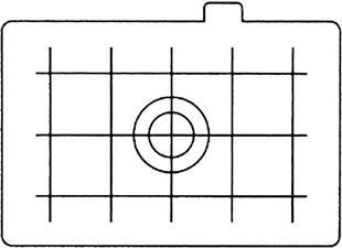 CANON EC-D - Mattscheibeneinsatz (Transparent)