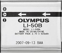 OLYMPUS LI-50B - Batterie lithium-ion (Argent)