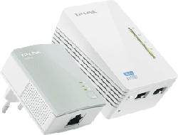 TP-LINK TL-WPA4220KIT WLESS REPEATER KIT - Powerline Adapter (Weiss)