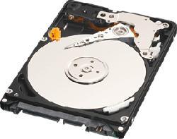 WESTERN DIGITAL LAPTOP MAINSTREAM 500GB RETAIL - Festplatte (HDD, 500 GB, Schwarz)