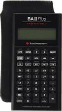 TEXAS INSTRUMENTS INSTRUMENTS TI-BAII+ - Calcolatrice finanziaria tascabile
