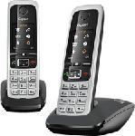 MediaMarkt GIGASET C430 Duo - Telefono (Nero/Argento)
