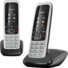 GIGASET C430 Duo - Telefono (Nero/Argento)