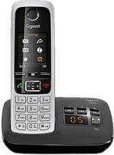 GIGASET C430A - Téléphone sans fil (Noir/Argent)