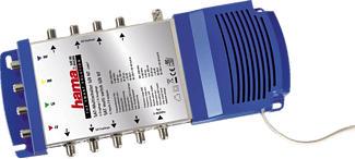 HAMA Lypsi SE - Contacteur satellite multiple (Bleu/Gris)