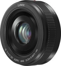 PANASONIC LUMIX G II 20mm F1.7 ASPH - Festbrennweite
