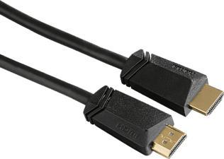 HAMA 123201 CABLE HDMI M/M 1.5M HS GP - HDMI-Kabel (Schwarz)