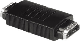 HAMA adattatore HDMI™, innesto - innesto - Adattatore (Nero)