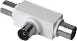 HAMA 00122472 - Antennenverteiler (Weiss/Silber)