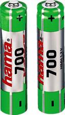 HAMA 56801 NIMH AAA 700MAH 2PCS - Batterie (Grün)