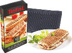 MediaMarkt TEFAL XA8003 Sets de plaque Snack Collection Grill / Panini - Noir - Plaque Grill-panini