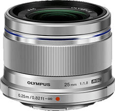 OLYMPUS M.Zuiko 25mm f/1.8 - Festbrennweite